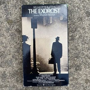 Vintage The Exorcist VHS Tape